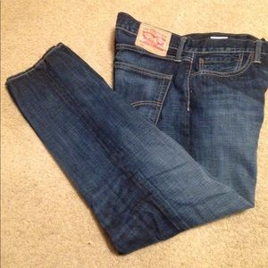 Levi's 508 Regular Tapered Leg Blue Jeans